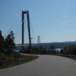 Most na poti proti jugu Švedske