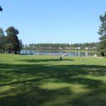 Jezero ob kampu