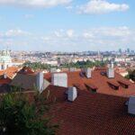 Pogled na Prago z gradu