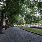 Promenada v starem delu mesta (Bratislava)