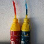 Olja za Scottoiler - rdeče za toplejše dni modro za hladnejše
